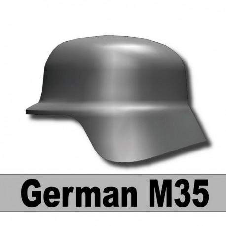 Helmet German M35 (Iron Black)
