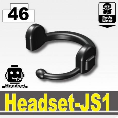 Headset JS1 (Pearl Dark Black)
