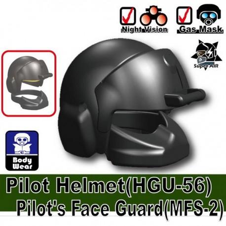 Pilot Helmet HGU-56 + MFS-2 (Iron Black)