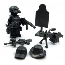 Lego Accessoires Minifig Si-Dan Toys Navy Seals Pack (12 pièces) (Iron Black) (La Petite Brique)