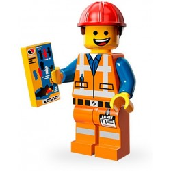 Lego Minifig Serie 12 71004 - THE LEGO MOVIE Emmet (La Petite Brique)
