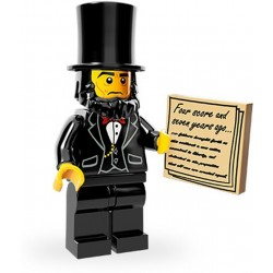 Lego Minifig Serie 12 71004 - THE LEGO MOVIE Abraham Lincoln (La Petite Brique)
