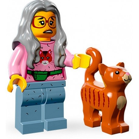 Lego Minifig Serie 12 71004 - THE LEGO MOVIE Madame Griffoir (La Petite Brique)