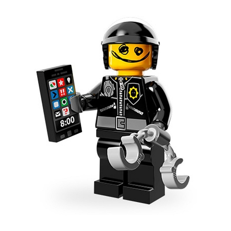 Scribble-Face Bad Cop Lego minifigures The Lego Movie 71004