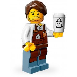 Lego Minifig Serie 12 71004 - THE LEGO MOVIE Larry le Barista (La Petite Brique)