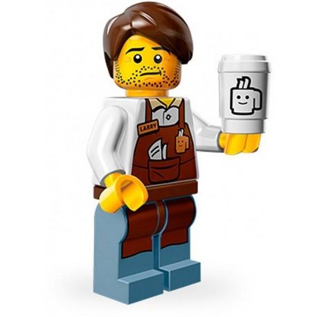 Lego Minifig Serie 12 71004 - THE LEGO MOVIE Larry le Barista (La Petite Brique)