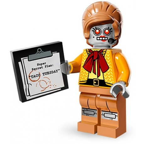 Lego Minifig Serie 12 71004 - THE LEGO MOVIE Velma Staplebot (La Petite Brique)
