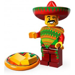 Lego Minifig Serie 12 71004 - THE LEGO MOVIE Type Taco (La Petite Brique)