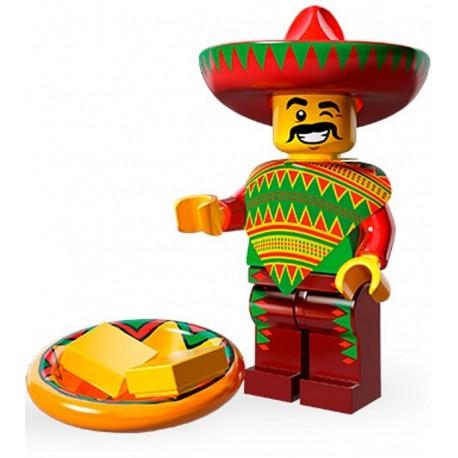 Lego Minifig Serie 12 71004 - THE LEGO MOVIE Type Taco (La Petite Brique)