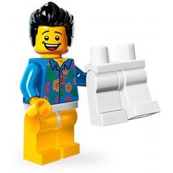 """Lego Minifig Serie 12 71004 - THE LEGO MOVIE Type """"Où sont mes pantalons?"""" (La Petite Brique)"""