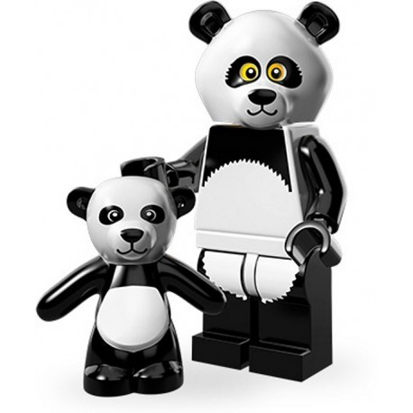 Lego Minifig Serie 12 71004 - THE LEGO MOVIE Type panda (La Petite Brique)