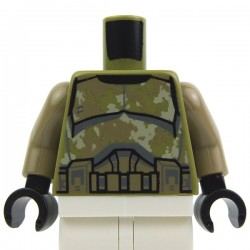 Olive Green Torso SW Armor Camouflage Kashyyyk Clone Trooper