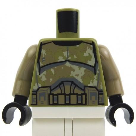 LEGO Neuf Vert Olive Mer Tortue Noir Yeux Et M Chair Coque Motif