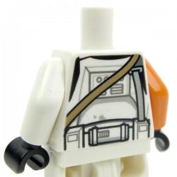 Lego Accessoires Minifig Torse Star Wars Airborne Clone Trooper (La Petite Brique)