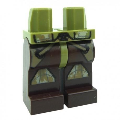 Lego STAR WARS Minifig Jambes - Clone Trooper Camouflage (Star Wars) (La Petite Brique)