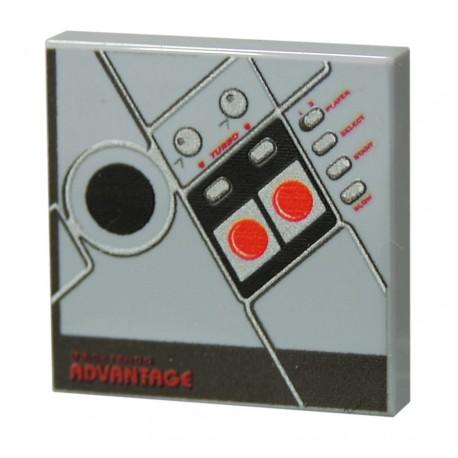 Lego Accessoires Minifig CUSTOM BRICKS Manette de jeu / Bricktendo Joystick (La Petite Brique)