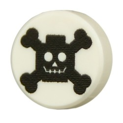 Cross Bones (White)