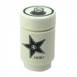 Soda Can, Brickstar Energy Drink (Black)