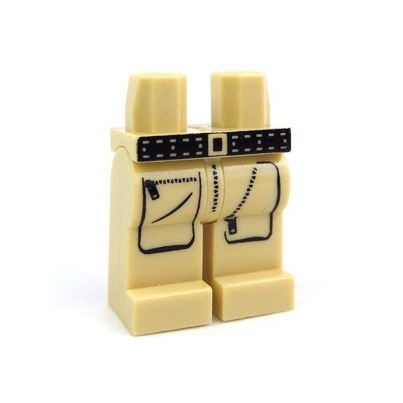 Lego custom BRICKS Custom Minifig - Explorer Cargo Pants (Tan) (La Petite  Brique)