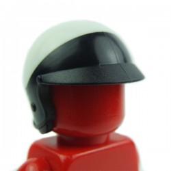 Lego Accessoires Minifig Casque Jet noir et blanc (La Petite Brique)
