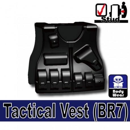 Lego Accessoires Minifig Si-Dan Toys Tactical Vest BR7 (noir) (La Petite Brique)