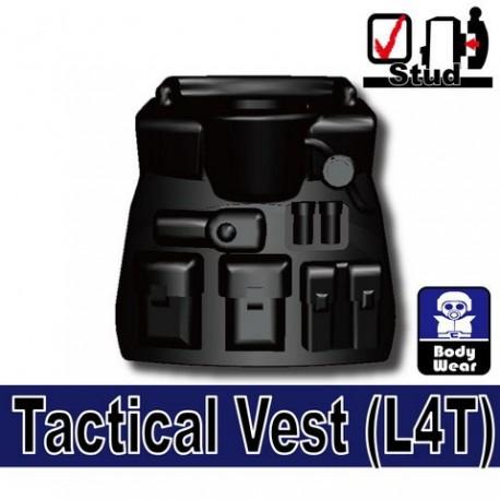 Lego Accessoires Minifig Si-Dan Toys Tactical Vest L4T (noir) (La Petite Brique)