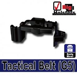 Lego Accessoires Minifig Si-Dan Toys Ceinture Tactical G5 (noir) (noir) (La Petite Brique)