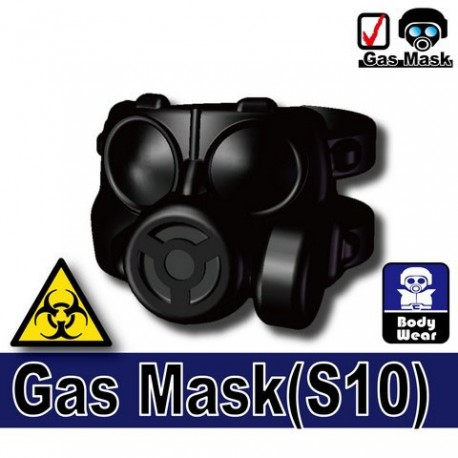 Gas mask S10 (black)
