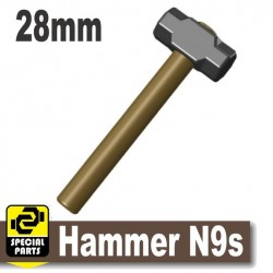 Hammer N9s (Dark Tan, Black)