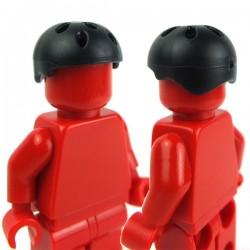 Lego Accessoires Minifig Si-Dan Toys Casque PTF (noir) (La Petite Brique)