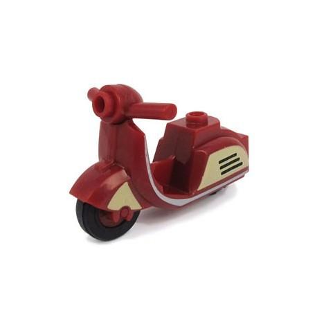 Lego Accessoires Minifig BRICKFORGE Scooter (rouge foncé) Retro (La Petite Brique)
