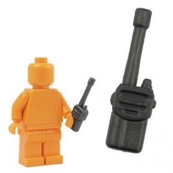 Lego Accessoires Minifig BRICKFORGE Talkie Walkie (carbon) (La Petite Brique)