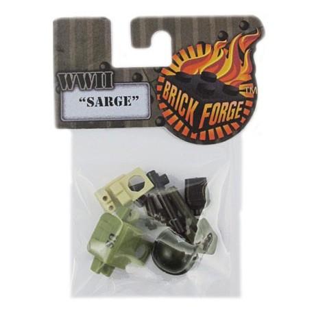 Lego Accessoires Minifig BRICKFORGE Pack WWII Sarge (La Petite Brique)