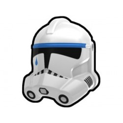 White Tup Trooper Helmet
