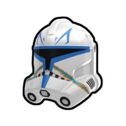 Lego Minifig Custom AREALIGHT White Rex Trooper Helmet (La Petite Brique) Star Wars