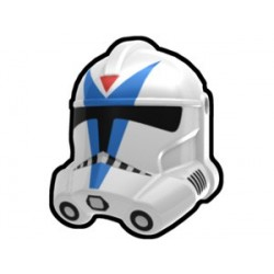 Lego Minifig Custom AREALIGHT White Dogma Trooper Helmet (La Petite Brique) Star Wars