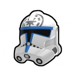 Lego Minifig Custom AREALIGHT White Jesse Trooper Helmet (La Petite Brique) Star Wars