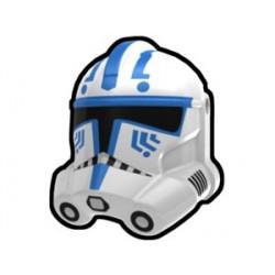 Lego Minifig Custom AREALIGHT White Hardcase Trooper Helmet (La Petite Brique) Star Wars
