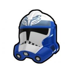 Lego Minifig Custom AREALIGHT Blue Sinker Trooper Helmet (La Petite Brique) Star Wars