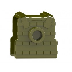 Buletproof vest / Plate Carrier Body Armor with stud (Military Green)