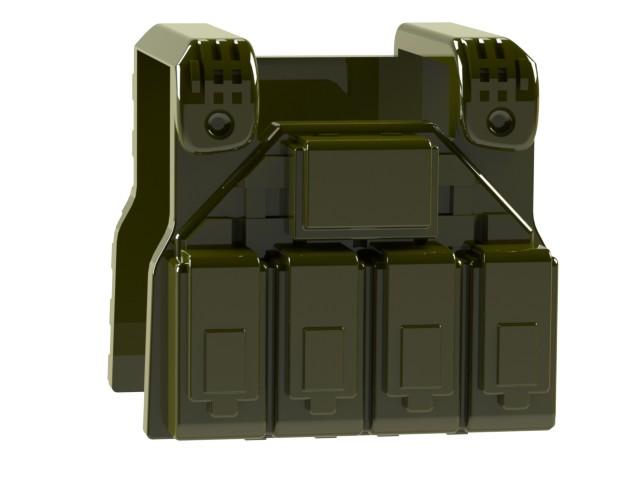Lego Minifig Camera : Lego custom minifig combatbrick special forces plate carrier vest
