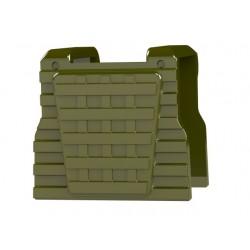 """Lego Accessoires Minifig COMBAT BRICK Special Forces Plate Carrier Vest (vert """"militaire"""") (La Petite Brique)"""