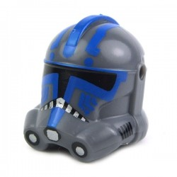Lego Minifig Custom AREALIGHT Dark Gray Hardcase Trooper Helmet (La Petite Brique) Star Wars