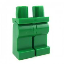 Lego Accessoires Minifig Jambes (vert) (La Petite Brique)