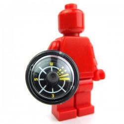 Lego Accessoires Minifig Boussole (noir) (La Petite Brique)