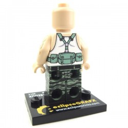 Lego Custom Minifig eclipseGRAFX Hunter Redux (Light Flesh) (La Petite Brique)
