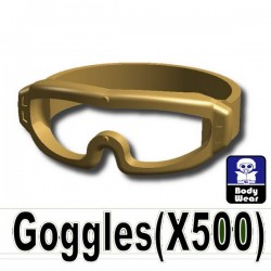 Goggles X500 (Dark Tan)