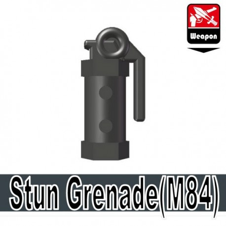Lego Accessoires Minifig Si-Dan Toys Stun Grenade (M84) (Iron Black) (La Petite Brique)