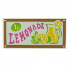 "Tile 2 x 4 ""LEMONADE"""