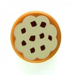 Lego Accessoires Minifig Cookie (Tile rond 1x1) (La Petite Brique)